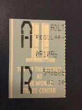 THE World Trade Center Ticket 10 set 1996