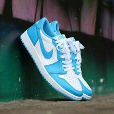 2019 Nike Air Jordan 1 Low Retro SB UNC OG Size 8. CJ7891-401. Powder blue .