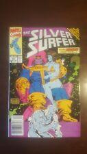 Silver Surfer #56 (Vol. 3) VF+ Lim Thanos Warlock Death Infinity Gauntlet X-Over