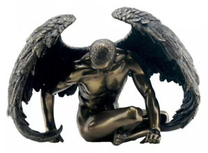 Angels Rest Nude Male Angel Figurine  20cms By Nemesis Now UK SELLER