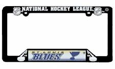 Nhl® Saint Louis Blues Plastic License Plate Holder - Support Your Team
