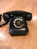 Stromberg Carlson 1243W Vintage Black Rotary Phone 1946