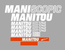 Sticker, aufkleber, decal - Manitou Maniscopic MRT 1742