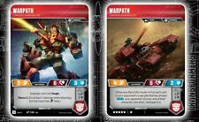 TRANSFORMERS TCG - WARPATH - RT T45/T46 - RARE HOLO WAVE 2 ROTC - BRAND NEW