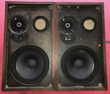 Vintage Acoustic Research AR2ax Speakers SOUND GREAT NEW WOOFERS & OEM Mid SRU