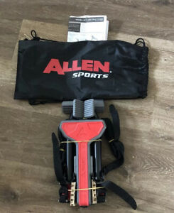 Allen Sports MT1-B Ultra Compact Folding 1-Bike Trunk Mount Rack
