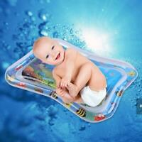 Baby Kinder Wasserspielmatte Sommer Aufblasbares Infant Tummy Time Playmat Kisse