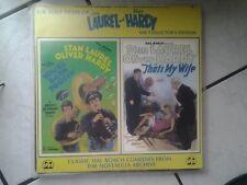 The Lost Films of Laurel + Hardy - Cd Video PLatte - -Laser Disc-in englisch