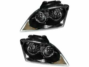 For 2004-2006 Chrysler Pacifica Headlight Assembly Set 88158NS 2005