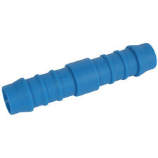 PVC NYLON & POLYPROP FTGS - 14MM ID HOSE REPAIRER BLUE NYLON 9-04698