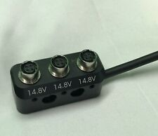More details for dtap - 4  pin hirose 3 way splitter -  suits sound  devices portable mixers  etc
