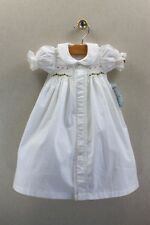 NEW Remember Nguyen Christmas Heirloom Dress NB Newborn Gown Smocked