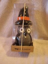 Halloween Owl And Witches Hat Salt & Pepper Shakers