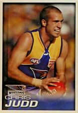 2005 CHRIS JUDD SELECT HERALD SUN WEST COAST FOOTBALL CARD