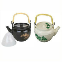 JapanBargain Japanese Plastic Melamine Teapot with Tea Strainer Made in Japan