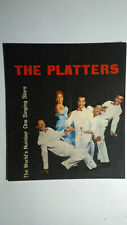 PLATTERS RAMBLIN JACK ELLIOTT COLIN HICKS SUPER RARE TOUR PROGRAMME ITALY 1958