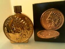 Rhtf Vtg 1970 Avon Indianhead Penny-Empty In Original Box-Free Shipping