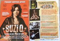 Promotional Movie Flyer SuziQ Suzi Quatro *NOT A DVD*