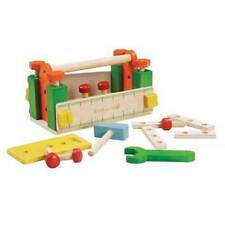 EverEarth Tool Box Workbench And Tools 3 Years+ 25 Pieces Traditional Wooden Toy