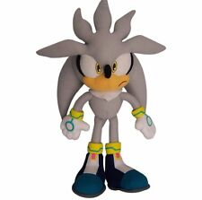 """Great Eastern GE-8960 Sonic The Hedgehog 13"""" Plush Doll, Silver, New"""