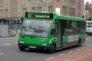 Nottingham City Transport 129 6x4 Quality Bus Photo