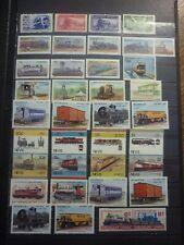 TRAINS LOT 36 TIMBRES NEUFS**. BONNE VALEUR