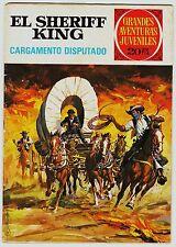"Grandes aventuras juveniles nº  8: EL SHERIFF KING. ""Cargamento disputado""."
