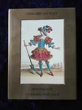 Manuscrits et livres précieux 1280-1930 - Sourget Catalogue
