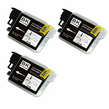 3 BLACK Ink Tank for LC61 Brother All-In-One MFC 255CW 290C 295CN 385CW 490CW