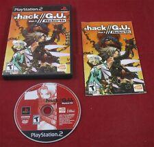 PS2: Hack // G.U. Vol.1 //  Rebirth - Hack GU  USA NTSC