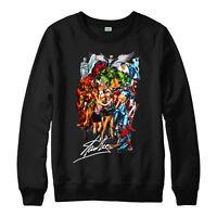 Marvel Stan Lee Jumper, Superhero Stan Lee Gift Unisex Adult Kids Jumper