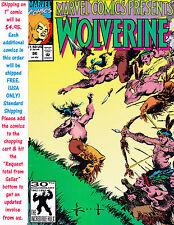 MARVEL COMICS PRESENTS #96 WOLVERINE UNREAD #34634K
