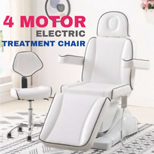 Elegant Electric Massage Dentist facial massage bed table with stool chair