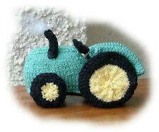 TRACTOR Toy Knitting Pattern By Georgina Manvell & Suzannah Holwell