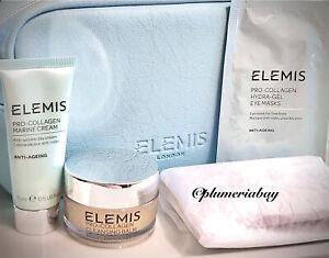 ELEMIS Pro-Collagen Marine Cream+Hydra-Gel Eye Mask+Cleansing Balm STARTER SET