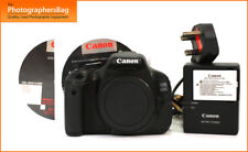 Canon EOS 600D Digitale Spiegelreflexkamera BODY, Akkuladegerät + Gratis UK PP