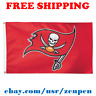 Deluxe Tampa Bay Buccaneers Team Logo Flag Banner 3x5 ft NFL Football 2019 NEW