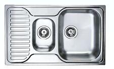 Spüle Einbauspüle Küchenspüle 80cm TEKA Princess 1 1/2C Edelstahl Spülbecken NEU