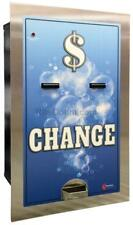 Mc520Rl-Da Change Machine in a Solid Steel Cabinet w/ Stainless Steel faceplate