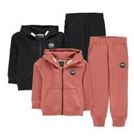 Boys Girls SoulCal Stylish Signature Zip Tracksuit Sizes Age from 2 to 7 Yrs