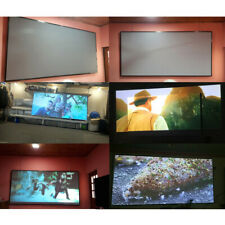 60-120'' Anti-light Curtains Projector Screen Projection 3D Home Cinema Theater