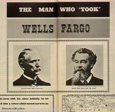 Wells Fargo Charles Wells Bank - Man Who Took Wells Fargo+Rarotonga,Matea,Scard
