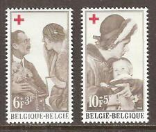 BELGIUM # B-822-3 MNH QUEEN WITH REFUGEE CHILD