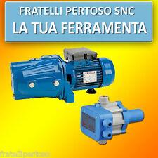 POMPA ELETTROPOMPA AUTOCLAVE CAM 100 HL MADE IN ITALY. + PRESSCONTROL