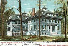An Early View of the Nyack Hospital, Nyack NY 1907