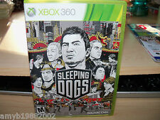 Sleeping Dogs (Xbox 360, 2012) EUC