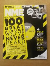 NME FEBRUARY 11 2012 ALABAMA SHAKES PULP THE HORRORS KILLERS NOEL GALLAGHER