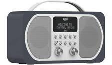 Bush Stereo DAB & FM Radio Portable Digital Radio With Bluetooth Wireless - Blue