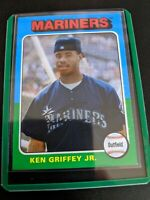 2019 Ken Griffey Jr. Topps Archives RC #128 Mariners Reds HOF
