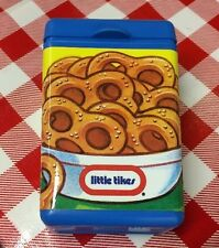 VTG LITTLE TIKES Pretend Play Food Replacement PRETZELS CONTAINER BOX ONLY NEW!!